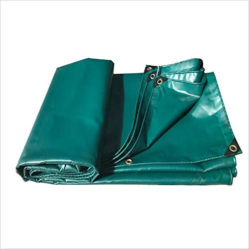 TARPAULIN Plane wasserdichtes Segeltuch, grünes PVC-regendichtes Tuch für Abdeckung im Freien Bauernhof Camping Lager Abdeckungs-Tuch 550g   M2 (Farbe   Grün, größe   2m3m)