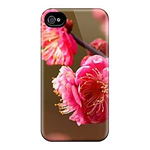 High-quality Durable Protection Cases For Iphone 6(beautiful Plum Blossoms Blooming)
