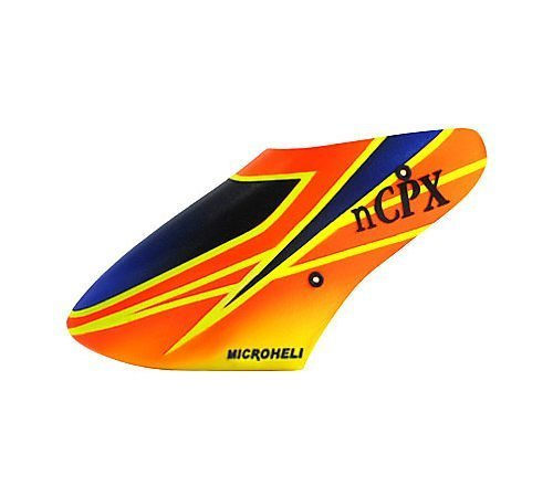 Micro Heli X Pro Canopy Fiberglass Nano CPX MHENCPX080XP by Microheli Co.