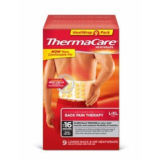 Table First Aid Treatment (Thermacare Heatwraps Lower Back & Hip, L-XL- SPECIAL LIMITED PACK OF 9 Count)