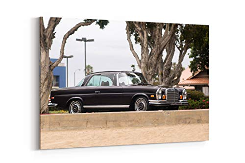 Mercedes Benz 280Se 3 5 Coupe 1969 - Canvas Wall Art Gallery Wrapped 40