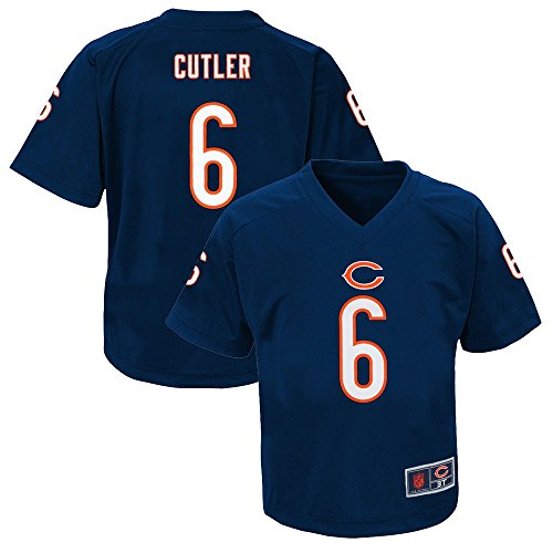 Outerstuff Jay Cutler NFL Chicago Bears Player Replica Jersey Tee Infant Toddler (Toddlers Nfl Player Replica Jersey)