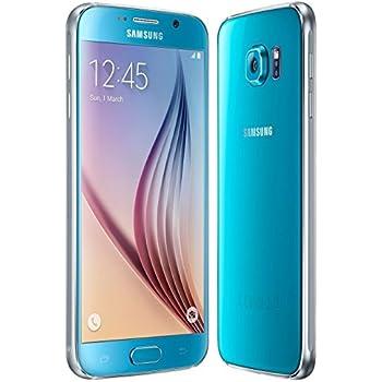 samsung s6. samsung galaxy s6 g920f 32gb factory unlocked gsm 4g lte octa-core smartphone - blue s