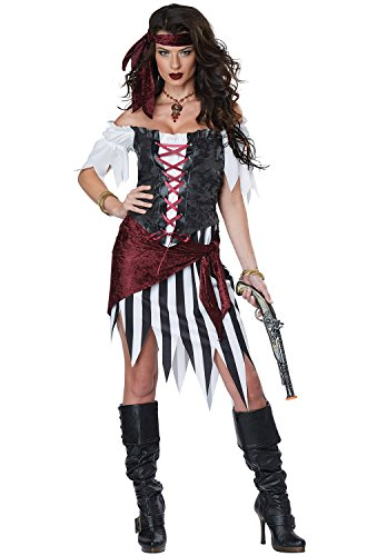 California Costumes Pirate Beauty Adult Costume-Small (Popular Womens Halloween Costumes)