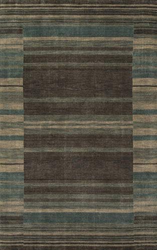 Momeni Rugs GRAMEGM-15BLU3656 Gramercy Collection, 100% Wool Hand Loomed Contemporary Area Rug, 3'6