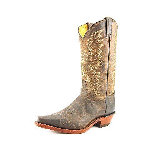 Vintage Goat Cowboy Boots - Tony Lama Women's El Paso Goatskin Cowgirl Boot Chocolate 8 M US