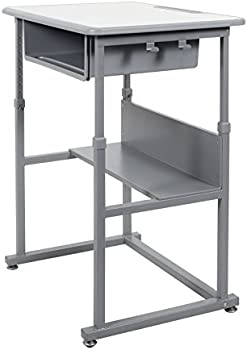 Luxor Offex of-Student-M Manual Adjustable Student Desk