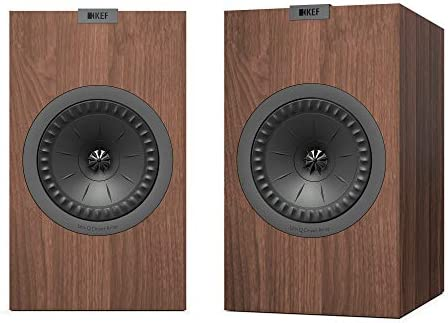 KEF Q350 Bookshelf Speakers Pair, Walnut