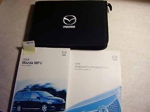 2006 mazda mpv owners manual mazda amazon com books rh amazon com 2004 Mazda MPV 2005 Mazda MPV