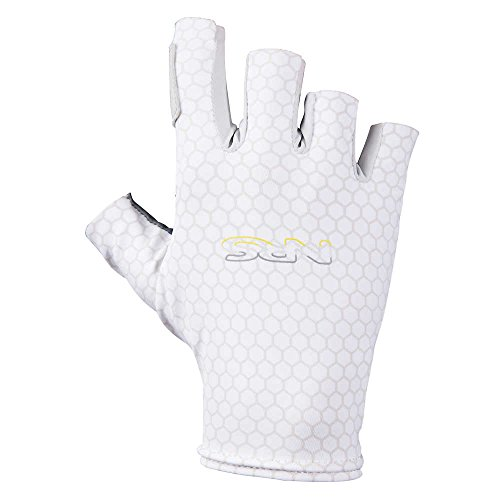 NRS Skelton Gloves (Gray Scale, L-XL)