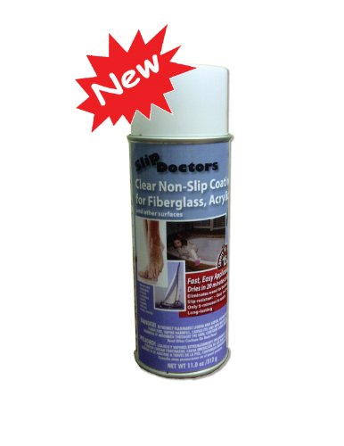 SlipDoctors Non Slip Resistant Spray for Fiberglass, White