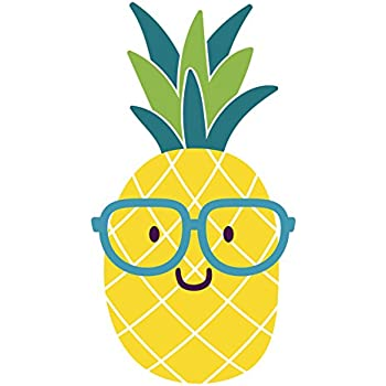 Amazon Com Adorable Nerdy Summer Pineapple Emoji With