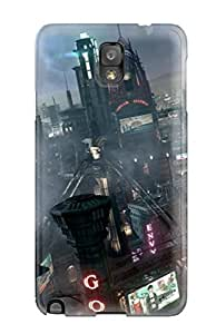 First-class Case Cover For Galaxy Note 3 Dual Protection Cover Batman: Arkham Knight
