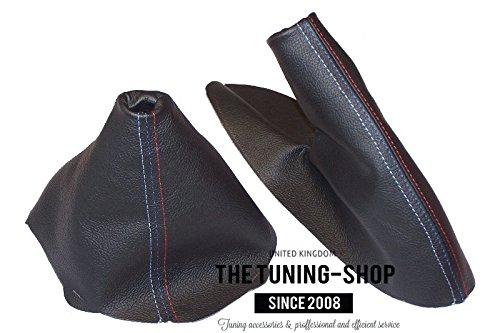 Gear /& freno de mano negro costuras piel M//////