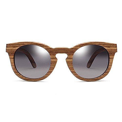 lunettes designer soleil femmes yeux de de nouveauté pour soleil Gris en cadre unisexe Classique lunettes cond de nuances protection chat lunettes bois de hommes la lunettes les soleil soleil UV polarisées 15q8n