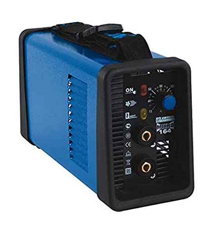 Soldadura de electrodos MMA inverter Awelco Mikro 164 con maletín
