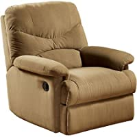 Eshion Wall Hugger Microfiber Recliner Adjustable Chair for Living Room, Multiple Colors