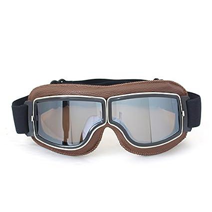Frohlila - Gafas protectoras vintage de seguridad para motos ...