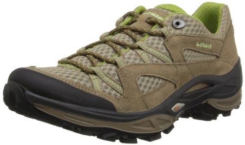 Lowa Women's Tempest Mesh Hiking Shoe,Taupe/Sage,10.5 M US