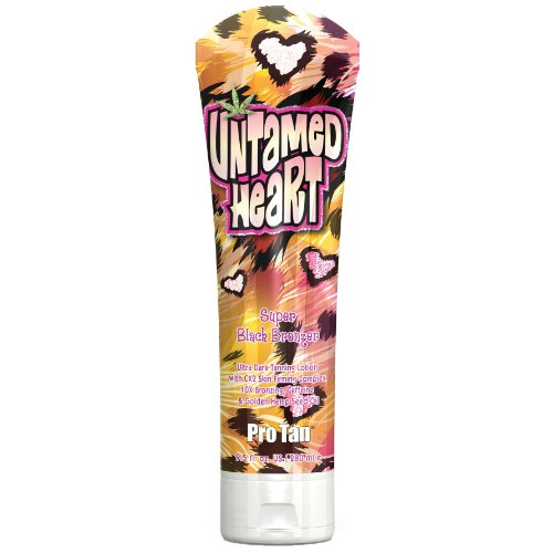 Pro Tan UNTAMED HEART 10X BRONZER INDOOR Dark Black TANNING