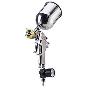 Neiko 31215A HVLP Gravity Feed Air Spray Gun | 1.7mm Nozzle Size | 600cc Aluminum Cup
