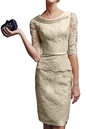 ivory mother of the bride plus size dresses - 4