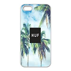 LSQDIY(R) huf iPhone 5,5G,5S Hard Back Case, Personalized iPhone 5,5G,5S Case huf