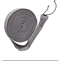 50 ft Central Vacuum Knitted Hose Sock Cover with Application Tube by LifeSupplyUSA