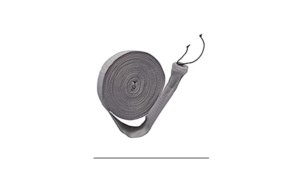 50 FT VACSOCK W APPLICATION TUBE KNITTED CENTRAL VACUUM HOSE COVER SOCK 30 35