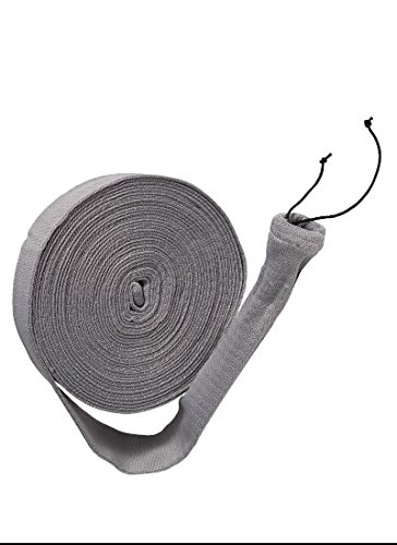 50 ft Central Vacuum Knitted Hose Sock Cover with Application Tube by (Beam Hose Sock)