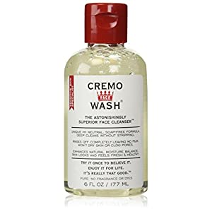 Cremo Cream Face Wash 6 OZ, 2 Pack