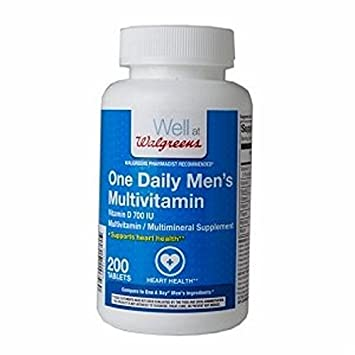 Walgreens One Daily Mens Multivitamin Tablets, ...