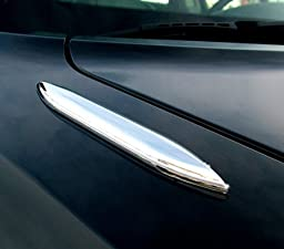 Ford Dodge & Chevrolet Chrome Hood Blade Accent Stripes - 7\