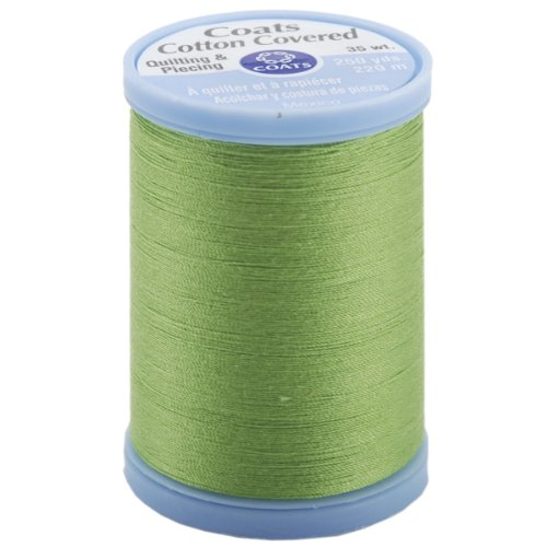 Price comparison product image COATS & CLARK S925-6840 Cotton Covered Quilting and Piecing Thread, 250-Yard, Lime Green