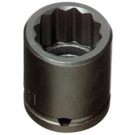 Stanley Proto J7434 1//2-Inch Drive Impact Socket 12-Point 1-1//16-Inch