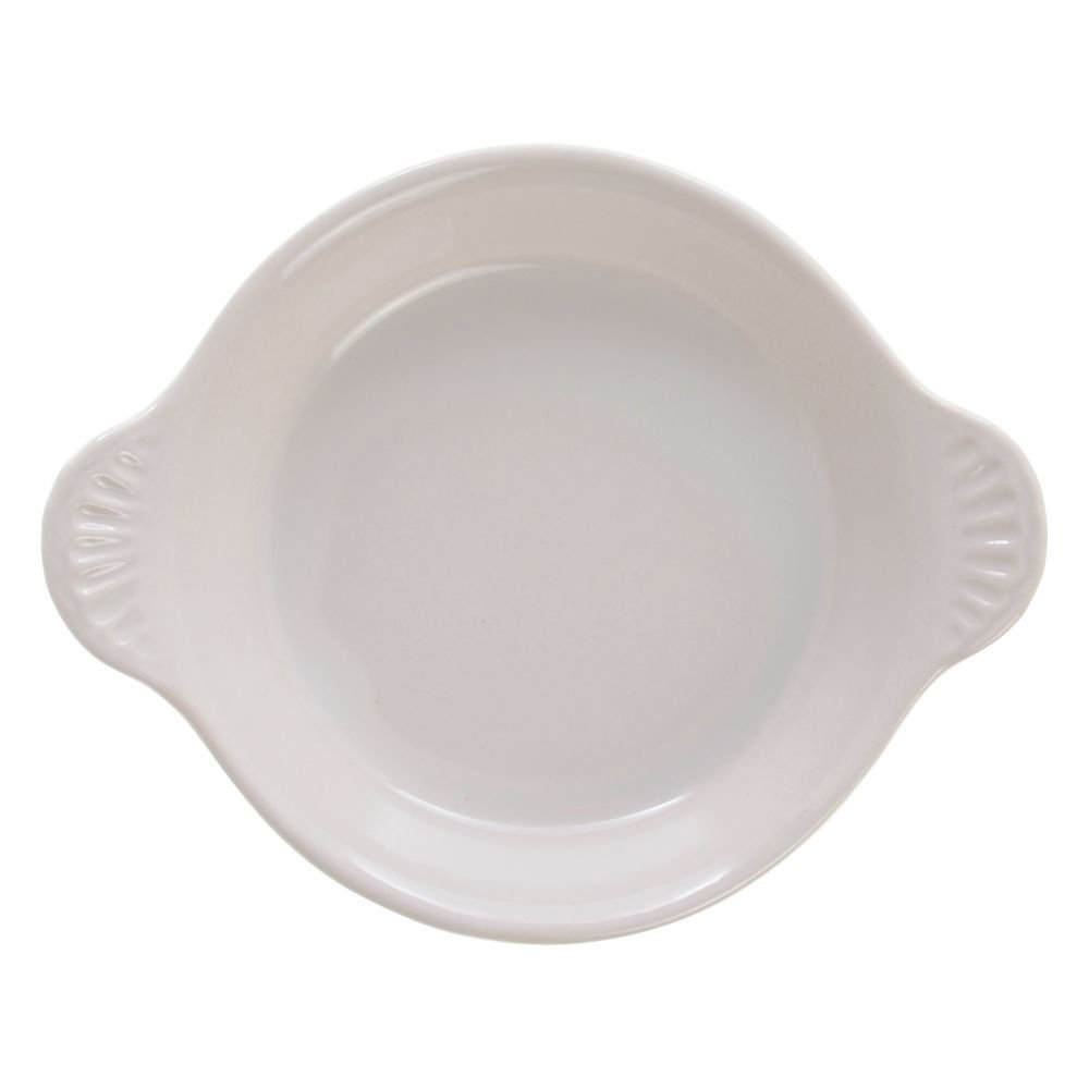 Diversified Ceramics 8 oz Warm White Ceramic Shirred Egg Ovenware