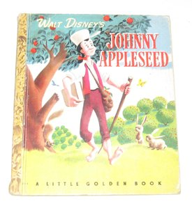 Walt Disney's Johnny Appleseed (A Little Golden Book)