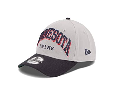 MLB Minnesota Twins Arch Mark Classic 39Thirty Stretch Fit Cap