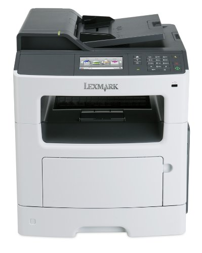 Lexmark MX417de Monochrome All-In One Laser Printer - Duplex
