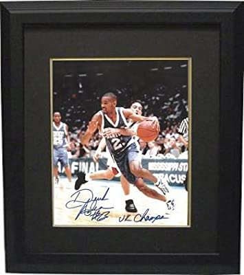 Derek Anderson Signed Photograph - Kentucky Wildcats 8x10 Custom Framed #23 UK Champs - Autographed College Photos