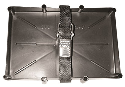 Price comparison product image T-H Marine NBH-24-SSC-DP Battery Holder Tray with Stainless Steel Buckle,  24 Series