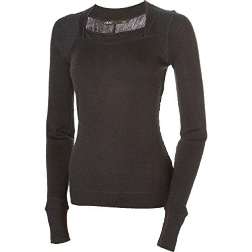 Nau Merino Wool Women's Black Sweater (M, Black) (Wool Womens Sweatshirt)