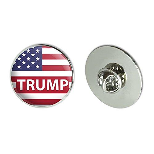 President Trump American Flag Metal 1.1