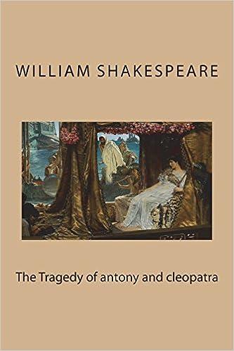 antony and cleopatra shakespeare william barnet sylvan