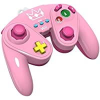 PDP Wired Fight Pad: Princess Peach for Nintendo WiiU