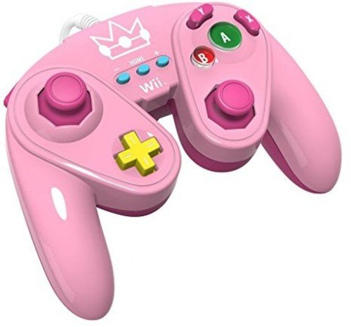 (PDP Wired Fight Pad for Wii U - Peach)