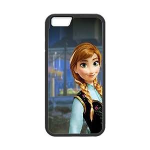 iPhone 6 Plus 5.5 Inch Cell Phone Case Black anna frozen illust disney-art FY1512505