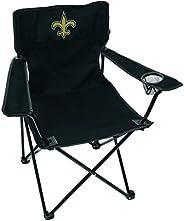 NFL New Orleans Saints Unisex LP0055NFL Game Day Elite Chair, Black, Adult