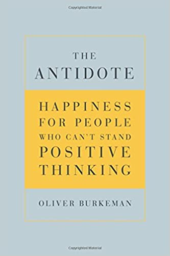 The antidote burkeman
