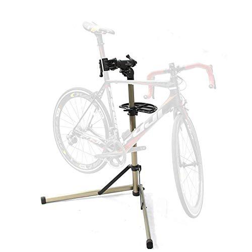 Bikehand Bike Repair Stand - Home Portable Bicycle Mechanics Workstand - for Mountain Bikes and Road Bikes Maintenance ...